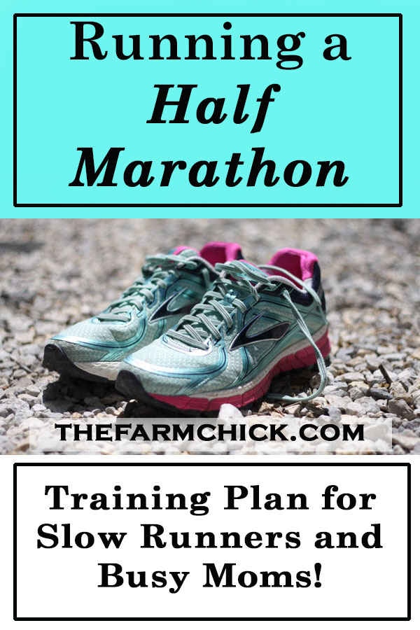 Want to run a half marathon?  Think you're too busy or too slow?  Trust me, follow this method and you can run one with no problem!  #running #halfmarathon #healthy #exercise