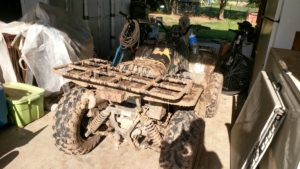 muddy 4 wheeler