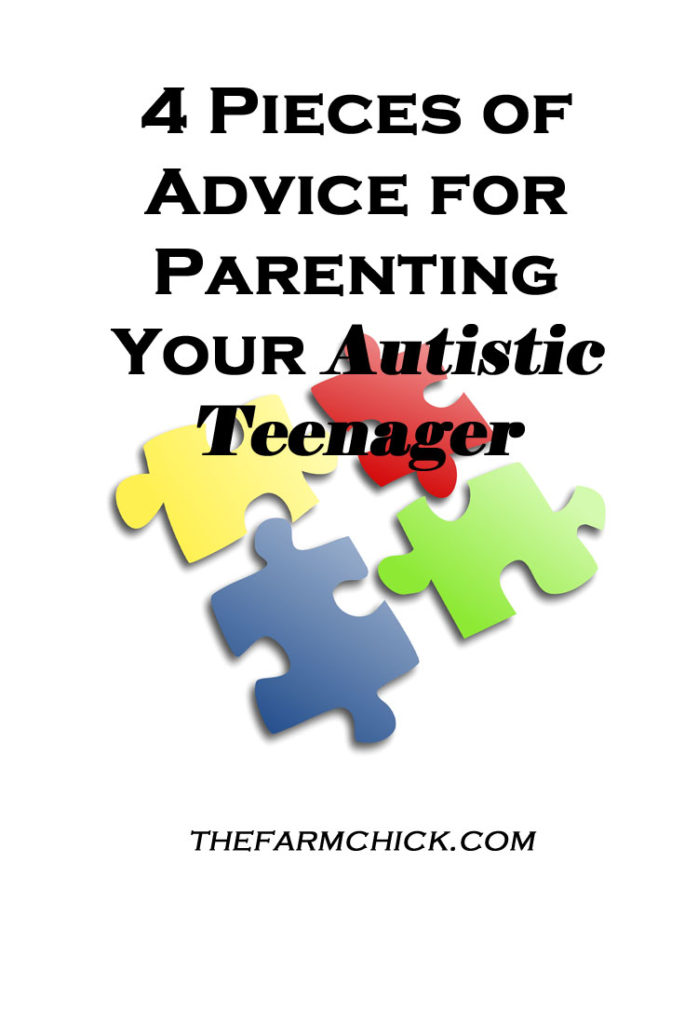4 pieces of advice for parenting your autistc teenager
