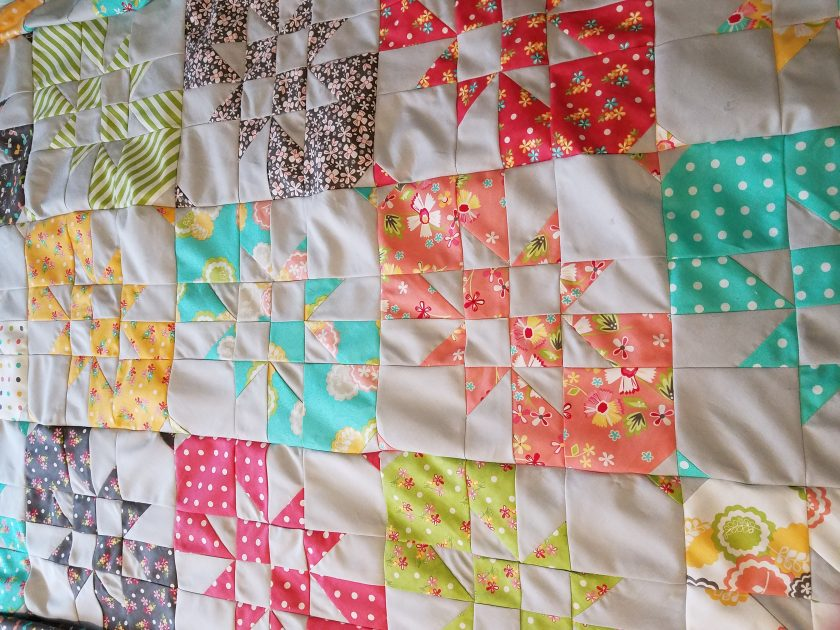 disappearing hourglass quilt. One Way to Complete a Goal