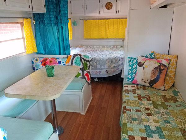 Vintage Camper Remodel| Camper Makeover| Camping| Glamping