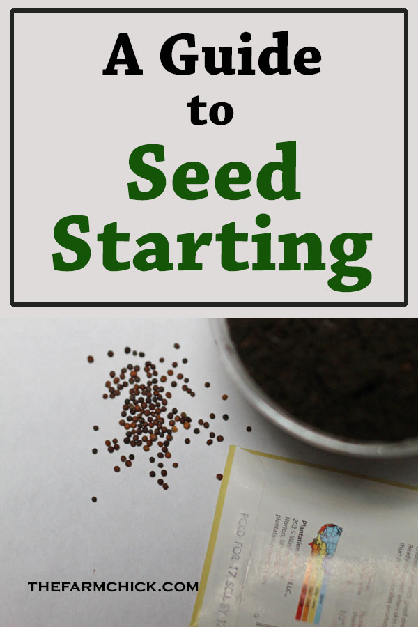 Want to get a jump on your garden this year? Learn how to start your own seeds! Gardening| Seed Starting| Homesteading #gardening #seedstarting #startingseeds #homesteading|